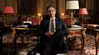 """Thierry Lhermitte, un ministre des Affaires étrangères plus vrai que nature dans """"Quai d'Orsay"""".  (Etienne George/Pathéfilms)"""