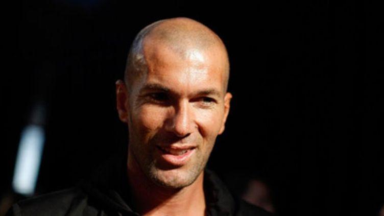 Zinedine Zidane a rendu visite aux Bleus à Clairefontaine