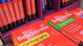 Des livres sur l'orthographe et la grammaire, le 14 août 2014. (JEAN FRANCOIS FREY / MAXPPP)