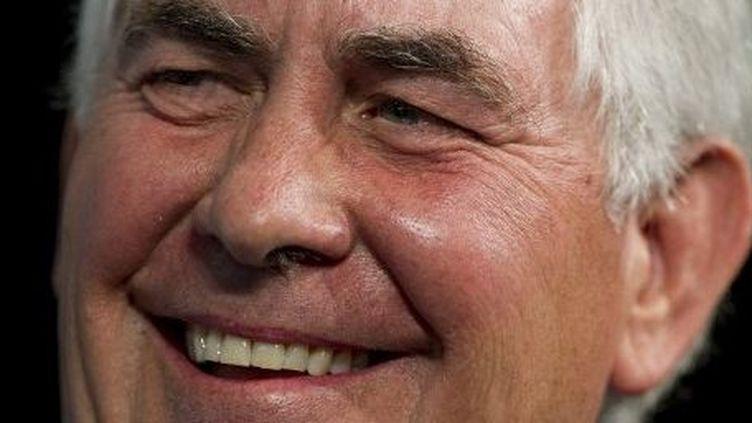 Rex Tillerson, le patron de la compagnie pétrolière ExxonMobil. (JIM WATSON / AFP)