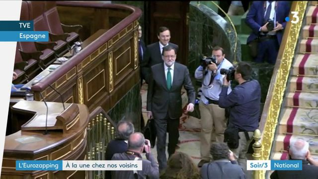 Eurozapping : motion de censure contre Mariano Rajoy