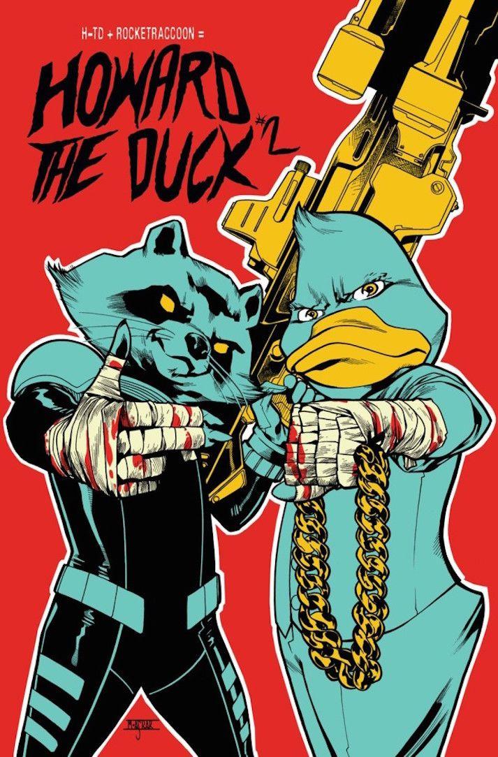 """Marvel Comics rend hommage à Run The Jewels avec """"Howard The Duck"""".  (Marvel Comics)"""