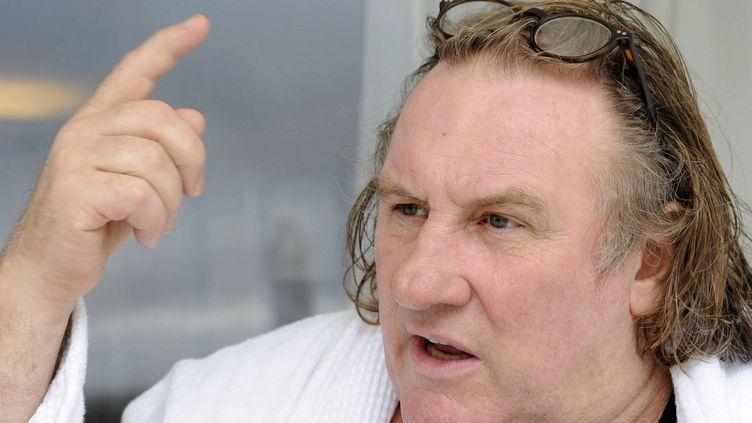 Gérard Depardieu  (Maxppp-Ouest France)