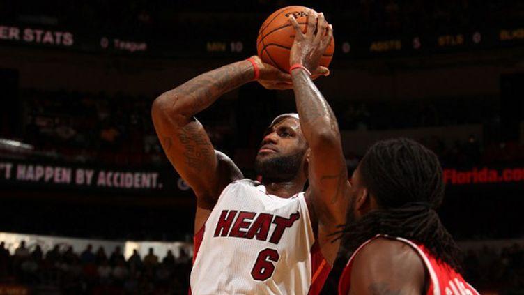 Le basketteur américain LeBron James