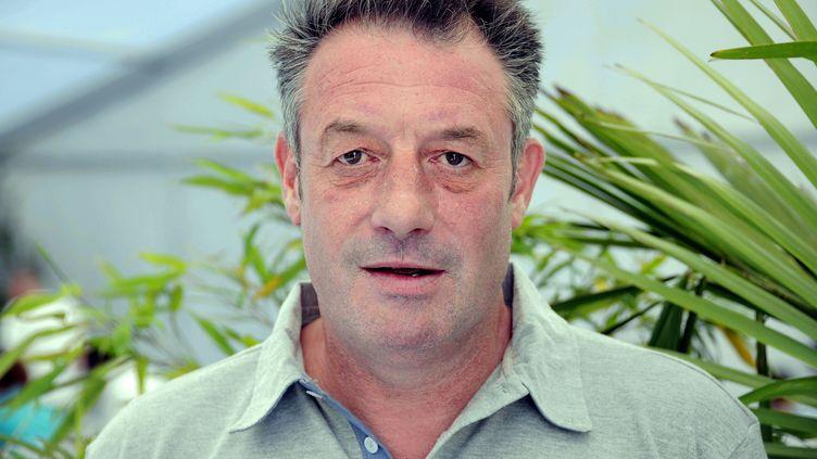 L'ancien coureur cycliste Jean-François Bernard au Mont-Saint-Michel (Manche), le 10 juillet 2013. (MAXPPP)