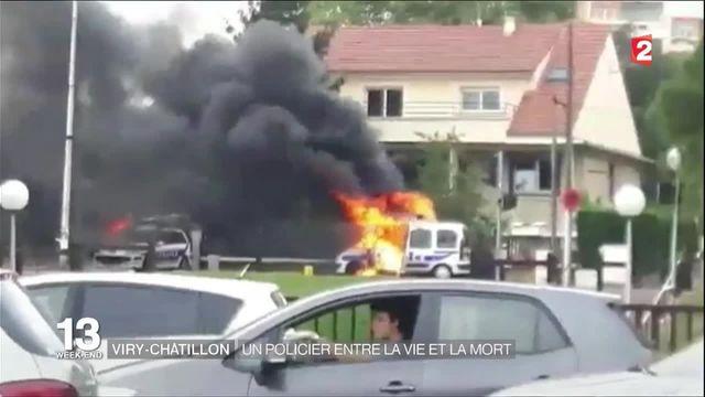 Attaque au cocktail Molotov : un policier entre la vie et la mort dans l'Essonne