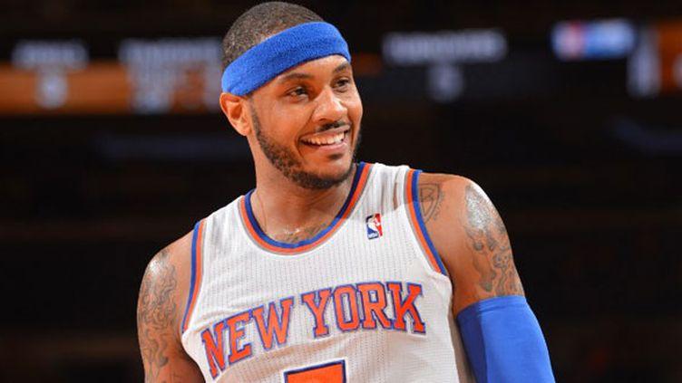 Le joueur des Knicks, Carmelo Anthony