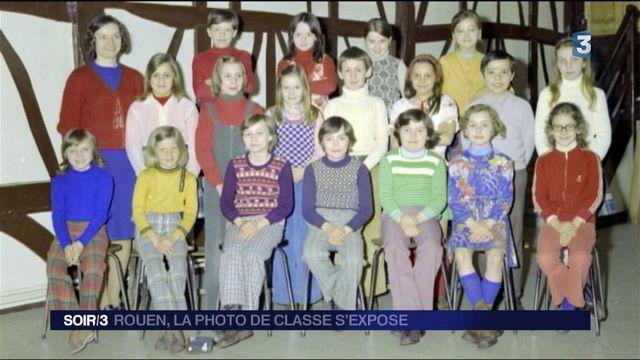 Rouen : la photo de classe s'expose