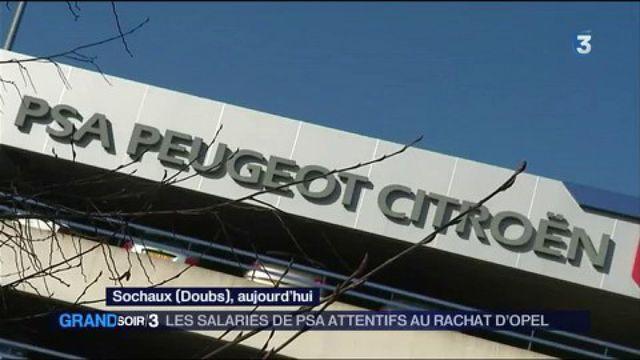 Automobile : les salariés de PSA sont attentifs au rachat d'Opel