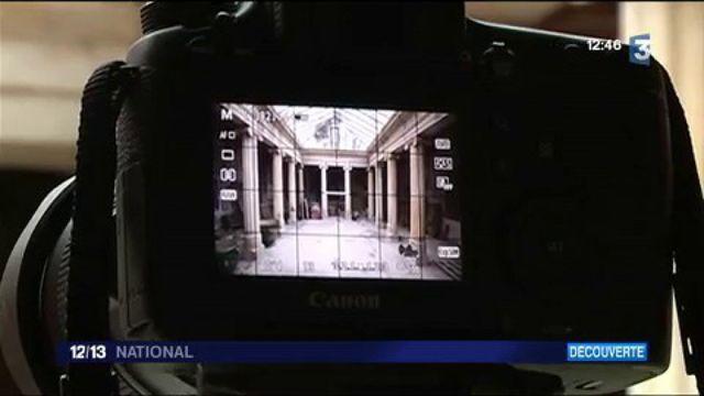 Découverte : un photographe redonne vie à des ruines