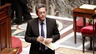 Le député UMP du Rhône Georges Fenech, lors desquestions au gouvernement à l'Assemblee nationale, le 9 juillet 2014. (  MAXPPP)
