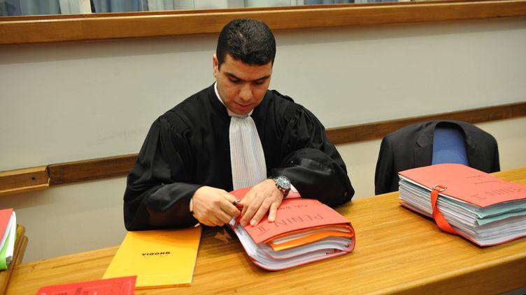 Maître Abderrahmane Hammouch, l'avocat de la famille du jeune Lillois décédé. (PHILIPPE PAUCHET / MAXPPP)