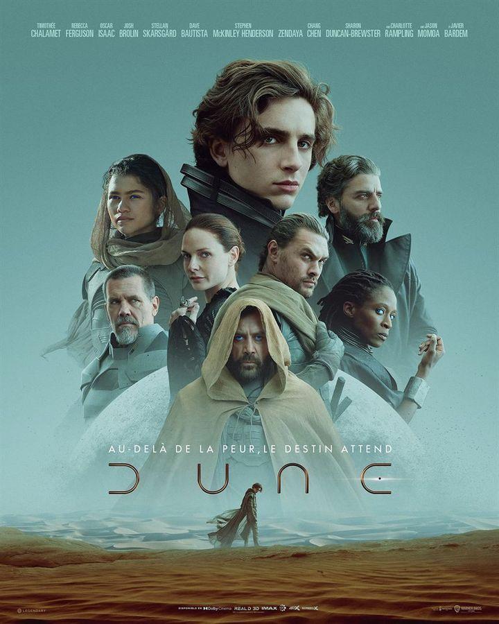 """L'affiche de """"Dune"""" de Denis Villeneuve (2021). (WARNER BROS. FRANCE)"""