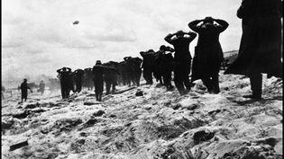 Des soldats allemands faits prisonniers sur Utah Beach, le 6 juin 1944. (AFP)