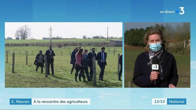 Agriculture : Emmanuel Macron à la rencontre des professionnels du secteur en Côte d'Or