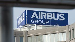 Les locaux d'Airbus en Bavière (Allemagne) en janvier 2014. (PETER KNEFFEL / DPA)