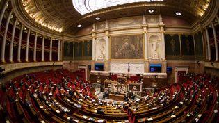 Les députés de l'opposition et du Front de gauche ont voté contre le texte. (YANN BOHAC / AFP)