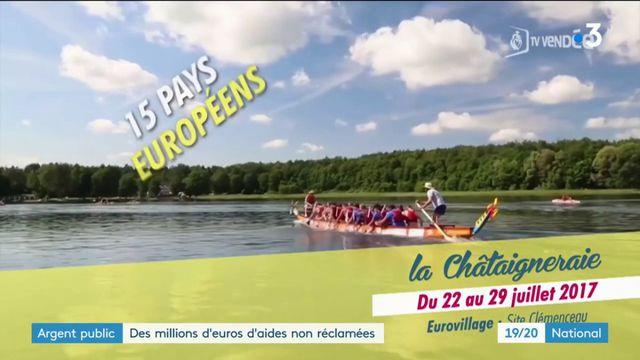 Europe : des millions d'euros d'aides non versés