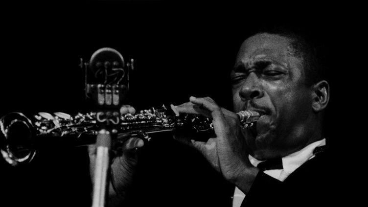 John Coltrane en 1963  (Philippe Gras / Le Pictorium / MAXPPP)