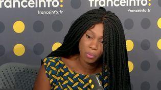 La soeur d'AdamaTraoréen appelleau président de la République et à la ministre de la Justice. (FRANCEINFO / RADIOFRANCE)