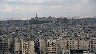 Vue d'Alep (Syrie), le 3 mars 2015. (ZEIN AL-RIFAI / AMC /AFP)
