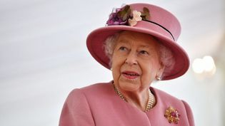 La reine Elizabeth II, à Salisbury, le 15 octobre 2020. (BEN STANSALL / POOL)