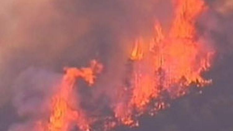 L'Aragon est la région la plus touchée avec 10.600 hectares de terres brûlées (© France)