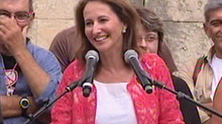 Ségolène Royal lors de son discours à la Fête de la fraternité, à Montpelier, le 19 septembre 2009 (© France 3)