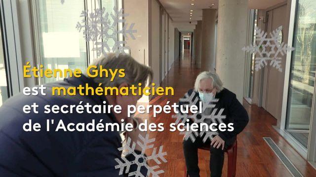 Sciences : le mathématicien Étienne Ghys raconte le mystère de la formation des flocons de neige