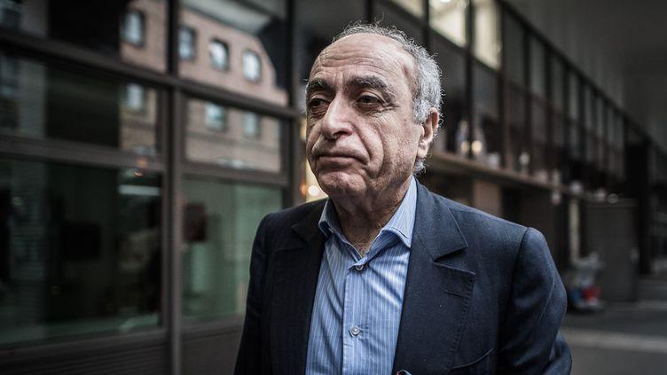 L'homme d'affaires franco-libanais Ziad Takieddine, en novembre 2016. (PHILIPPE LOPEZ / AFP)