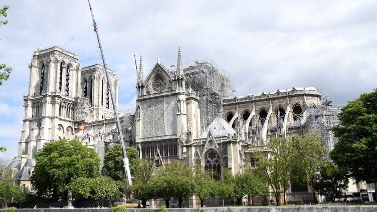 Notre-Dame de Paris, le 15 mai 2019. (BERTRAND GUAY / AFP)