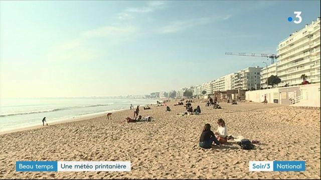 Beau temps : une météo printanière en France
