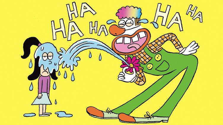 Une petite leçon de rire dans Salut l'info! (FRANCEINFO / RADIOFRANCE)