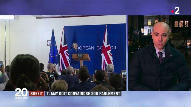 Brexit : Theresa May doit convaincre le Parlement britannique