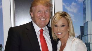 Ancienne pasteure personnelle de Donald Trump, Paula White vient d'intégrer sa garde rapprochée à la Maison-Blanche (Washington, États-Unis). (France 2)