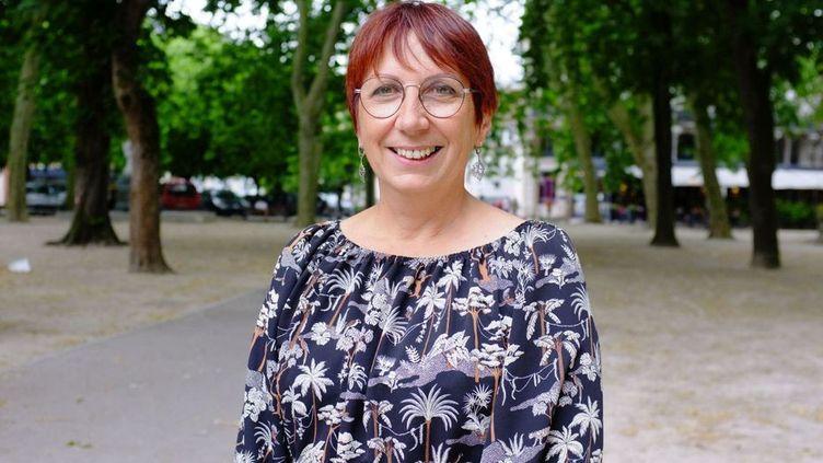 Anne Vignot, membre d'Europe-Ecologie Les Verts, est la nouvelle maire de Besançon. (EMMANUEL RIVALLAIN / FRANCE 3 FRANCHE-COMTE)