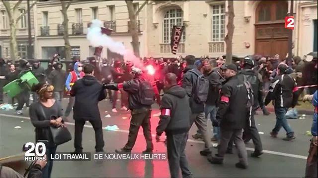Loi Travail : des violences dans plusieurs manifestations partout en France