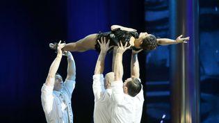 Le Cirque du Soleil lors des 73e British Academy Film Awards, en février 2020. (GUY LEVY/BAFTA/REX/SIPA / SHUTTERSTOCK)
