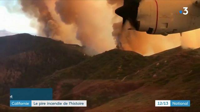 La Californie est toujours en proie aux flammes