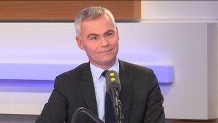 Christophe Bouillon, président de l'Association des petites villes de France, le 20 novembre 2018. (RADIO FRANCE / FRANCEINFO)