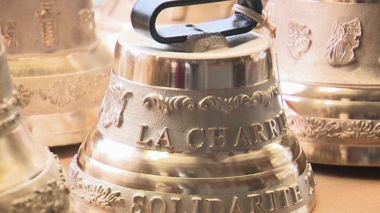 Lacloche de la solidarité pour soutenir une fonderie du Doubs en difficulté. (CAPTURE ECRAN FRANCE 2)