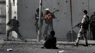 La Bataille de Syrte - Libye.  (A.Messinis/AFP)