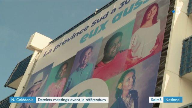Nouvelle-Calédonie : derniers meetings avant le référendum sur l'indépendance
