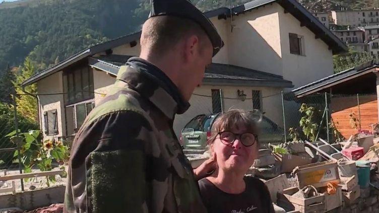 Tempête Alex : ils retrouvent leur sauveur (Capture d'écran France 2)