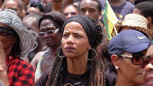 Manifestation à Cayenne à l'occasion de la journée morte le 28 mars 2017.Image d'illustration. (MAXPPP)