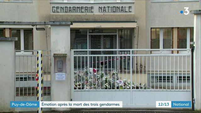 Puy-de-Dôme : la ville d'Ambert rend hommage aux gendarmes tués
