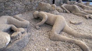 Pompé : cadavres conservés dans les cendres du Vésuve  (ANA / ONLY WORLD / ONLY FRANCE)