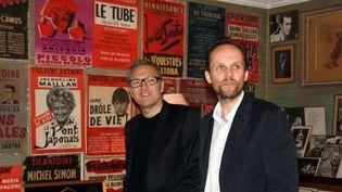 Laurent Ruquier et son associé Jean-Marc Dumontet  (DR Sophie Jouve)