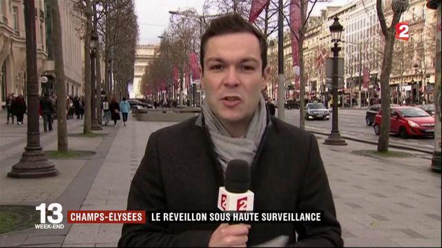 Nouvel An : une soirée placée sous haute sécurité à Paris
