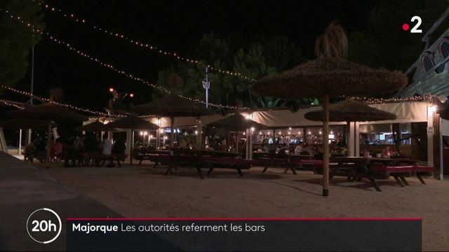 Majorque : les autorités referment les bars
